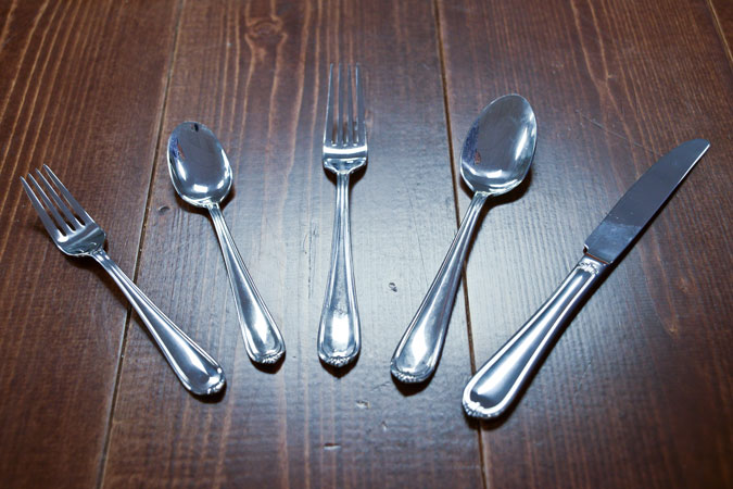 Flatware & China Rental