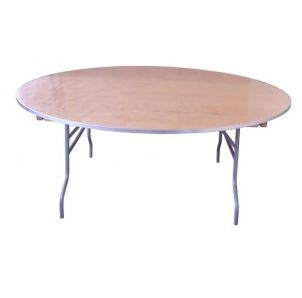 72-in Round Table
